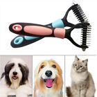 1Pc Pet Dog Cat HairFur Shedding Trimmer Grooming Rake Comb Brush Tools w/