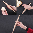 23/28cm Rolling Pin Beech Wood Solid Wooden Help Make Pizza, Pasta, Pastry Bread