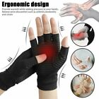 Pair Arthritis Gloves Sports Health Half Finger Recovery Therapeutic Compression $9.07 USD on eBay