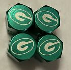 Chrome Engraved  Green Bay Packers Tire Valve Stem caps, Many styles, 4 Pc set $8.0 USD on eBay