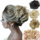 Внешний вид - Messy Rose Bun Easy-To-Wear Stylish Hair Scrunchies