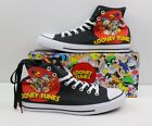 Converse X Looney Tunes CTAS HiTop Crew All Folks Black Shoes Mens Multi Size