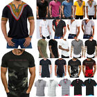 Mens Summer Slim Fit Casual Basic Tee Sports Short Sleeve T-Shirts Blouses Tops