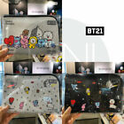 BTS BT21 Official Authentic Goods PU Cable Pouch 220x150x30mm 3TYPE