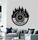 Vinyl Wall Decal Outdoor Camping Adventure Words Travel Tree Stickers (g1539)