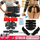 EMS Abdominal Hip Lift Muscle Training Gear Stimulator Toning ABS Workout Belt image