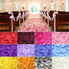 500pc Silk Rose Artificial Flowers Bride To Be Wedding Petals Table Flowers Bach