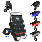 Motorcycle Phone Qi Charging Wireless Charger Bracket Holder for iPhone Samsung
