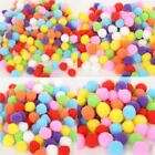 Mini Fluffy Soft Pom Poms Pompoms Ball Handmade Kids Toys Sewing Craft Supplies