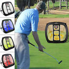 Nylon Foldable Golf Driving Cage Practice Hitting Net Indoor Outdoor Trainer UK