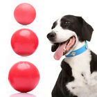 3 Sizes Rubber Small Dog Pets Chew Ball Pet Puppies Balls Puppy Dogs Play Toy