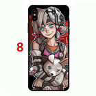 Borderlands Moxxi Zer0 Soft Phone Case Cover for Iphone XR XS MAX X 7 8 Plus