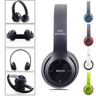 Wireless Bluetooth Headphones Stereo Headset Over-Head Earpads with Built-in Mic