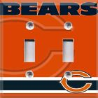 Football Chicago Bears Themed Light Switch Cover Choose Your Cover $12.99 USD on eBay