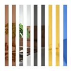 Wall Stickers 10pcs 3d Mirror Stripe Vinyl Removable Decal Home Decor Art Diy
