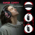 ONIKUMA 3.5mm PC Stereo Music Gaming Headsets Headphone Noise Cancellation K4T0