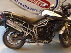 Triumph Tiger 800 & 800XC Performance Motorbike Road-Legal/Race Exhaust Muffler