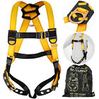 Fall Protection Construction Harness & Shock Absorbing Roofing Carpenters