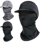 Outdoor Cycling Sunscreen Hat Headgear Helmet Ice Silk Cap Breathable Windproof