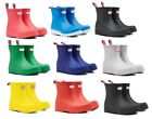 Hunter Women's Original Play Short Rain Boots Waterproof Slip On Ankle Boots NEW