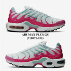 NIKE AIR MAX PLUS GS (718071 - 102),Girls' Athletic Running Shoes,NEW WITH BOX