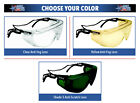 Bolle Override Over-The-Glass Safety Glasses ANSI Z87+ Work Eyewear Choose Color