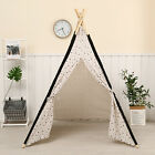 Indian Playhouse Toy Teepee Play Tent for Kid Holiday creative gift for Children