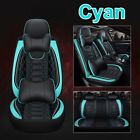 13Pcs Breathable PU Lerather Car Front&Rear Seat Cover Cushion Set NEW!