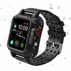 Waterproof Case For Apple Watch Series 5 4 3 2 1 38/42/40/44mm Shockproof Band image