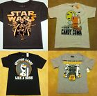 Halloween Star Wars Vader Charlie Brown Snoopy Olaf T-Shirt Glow in the Dark $4.48 USD on eBay