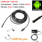 2017 Newest 5.5/7mm Waterproof Mini Android Endoscope USB Wire Snake Tube