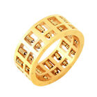 Fashion Abacus Ring Gold for Men Women Maths Number Rotatable Jewelry Gifts