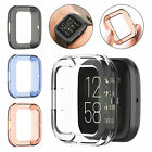Lightweight TPU Half Case Cover Screen Protector Accessories For Fitbit Versa 2