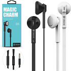 Wired Earphones Headphones 3.5mm with MIC for iPhones SmartPhones Tablets Laptop