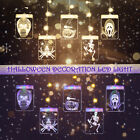 Halloween Decoration Hanging Led Lights Fairy String Decor Party Home Lamp Prop