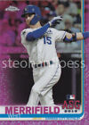 2019 Topps Chrome Update Pink Refractor You Pick the Card Finish Your SetBaseball Cards - 213