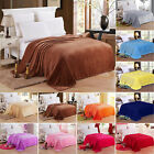 Warm Throw Super Soft Plush Velvet Blankets Sofa Home Bed Fleece Twin Queen King image