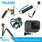TELESIN For Gopro Hero 8 Water accessories Diving surfing Underwater photography