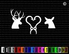 Deer Couple #4 Hunting Car Sticker Window Vinyl Decal Redneck Fishing Doe Buck
