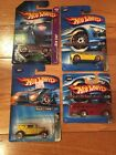 2006 HOT WHEELS RED LINE Lot Of 4 . 32 Ford 68 Nova Ford Gt 40 Surfin School Bus