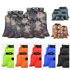 5PCS Waterproof Dry Bag Water Resistant Pouch Canoe Kayak Camping Hiking Boating