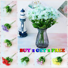 4 Pcs 20 Heads Garden Mini Lily Artificial  Flower Outdoor Fake Plant Home Decor