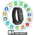 M4 Smart Band Wristband Bracelet Bluetooth Heart Rate Blood Pressure Monitor Fit