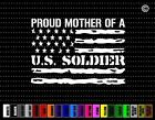 Proud Army Mom #3 Family Dad Military Parent Flag Car Sticker Window Vinyl Decal