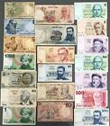 Israel Lot of 20 Different Banknotes Pound Lira & Sheqel 1958-1986 Low Grade (1)