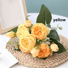 Vintage Wedding Silk Peony  Party Decoration  Artificial Flowers  Rose bouquet