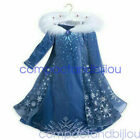 2019 Frozen 2 Girl Princess Elsa Fancy Dress Cosplay Costumes Child Party Outfit