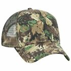Wholesale 12 x Camouflage Cotton Blend Twill 6 Panel Pro Style Mesh Back Trucker