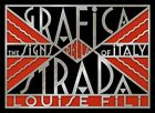 Grafica della Strada The Signs of Italy by Louise Fili 9781616892692 | Brand New