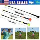 Golfs Swing Trainer Aid Stick Indoor Practice Power Strength Tempo Flex Training